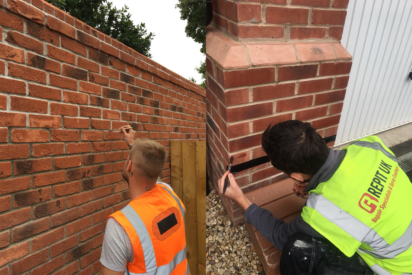 Repit uk repair stone work and specialise in brick tinting