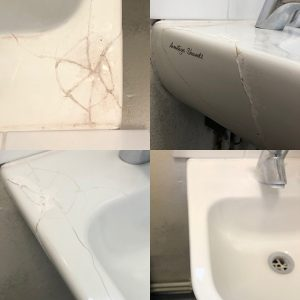 Repit-uk can repair cracked bathroom sinks and hand basins